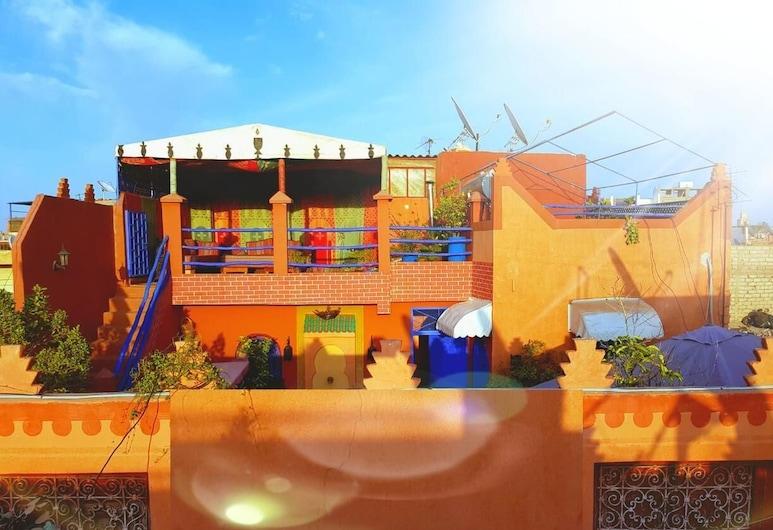 科努茲庭院飯店, 馬拉喀什, 露台