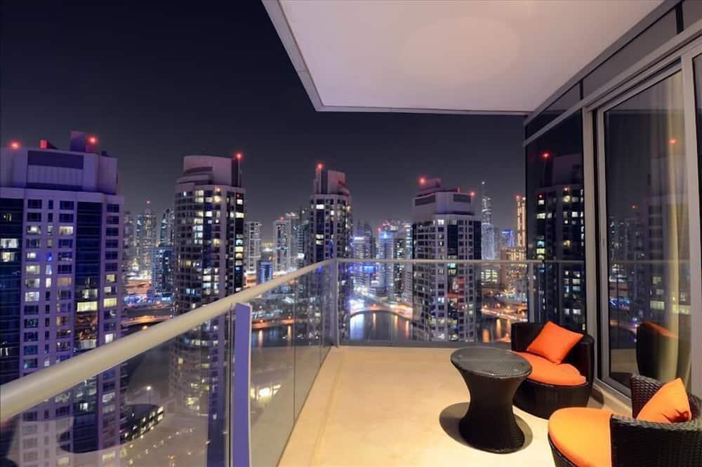 Apartmán, 2 ložnice, výhled na moře - Balkón