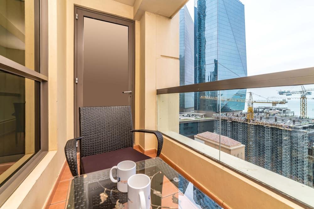 Luksusa dzīvokļnumurs, trīs guļamistabas, skats uz jūru - Balkons