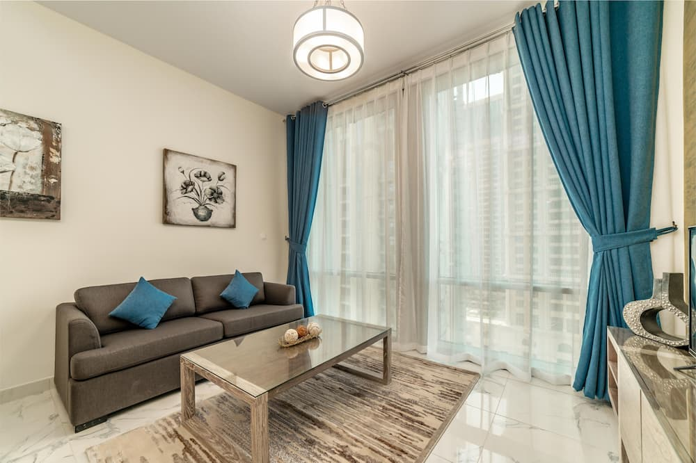 Apartment, 2 Bedrooms, Canal View - Living Room