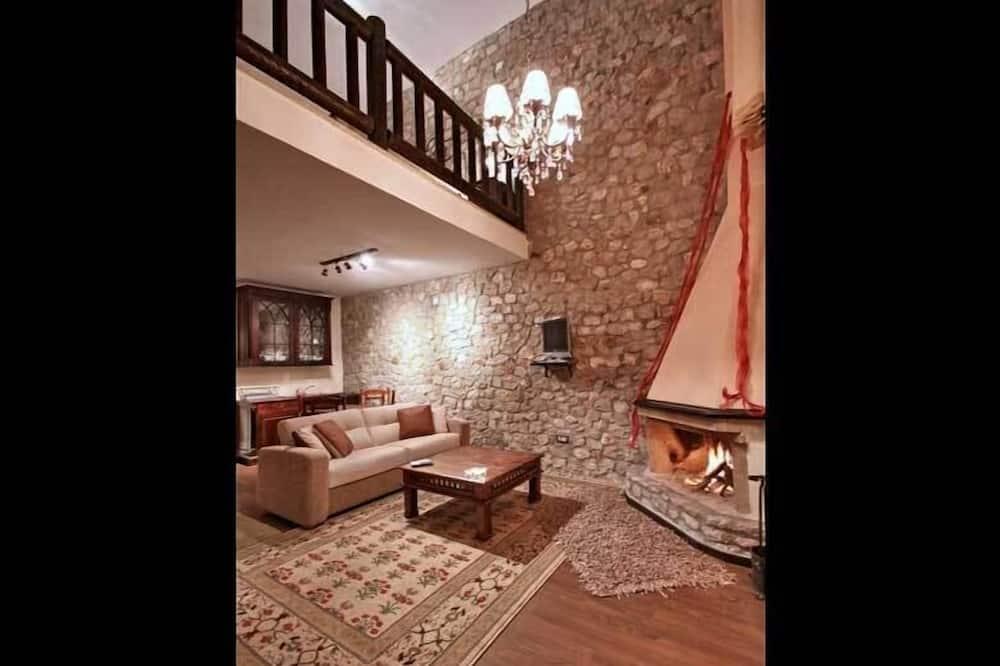 Duplex, 1 sypialnia - Powierzchnia mieszkalna