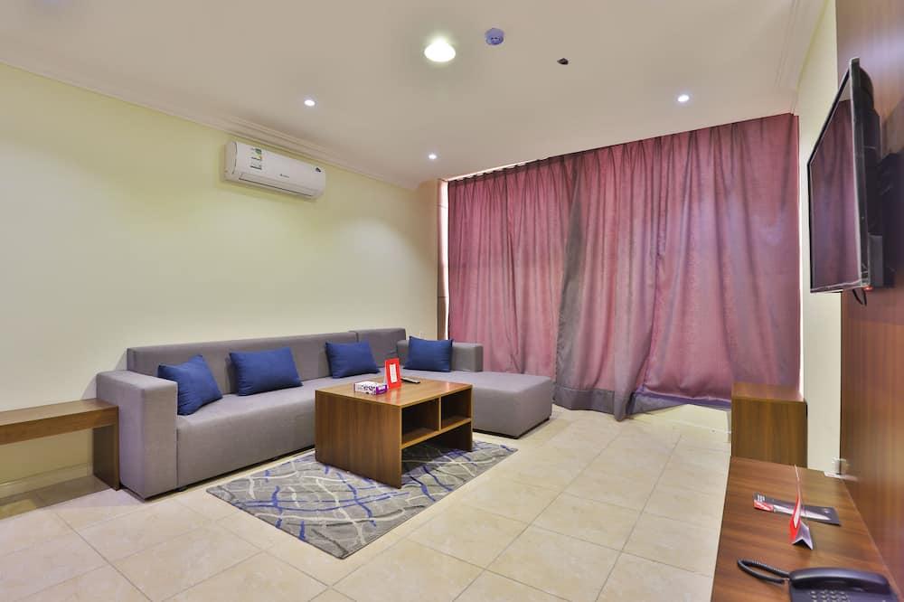 Paaugstināta komforta dzīvokļnumurs, viena guļamistaba - Dzīvojamā istaba