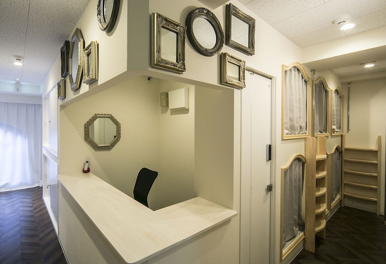 Alice in the Mirror Hostel - Caters to Women, Tokyo, Interior Entrance