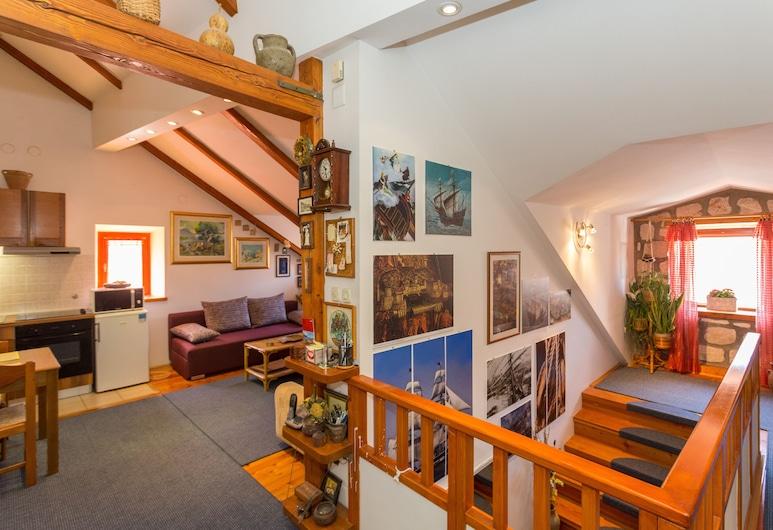 Dubrovnik Crow's Nest, Dubrovnik, Apartamento, Sala