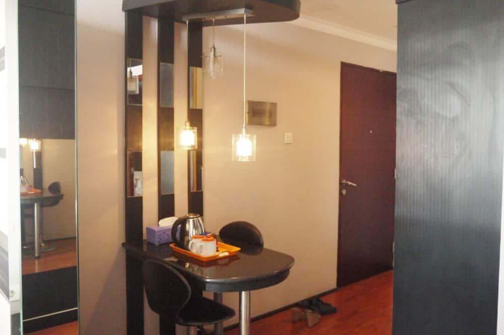 Apartamentai, 1 miegamasis - Vakarienės kambaryje