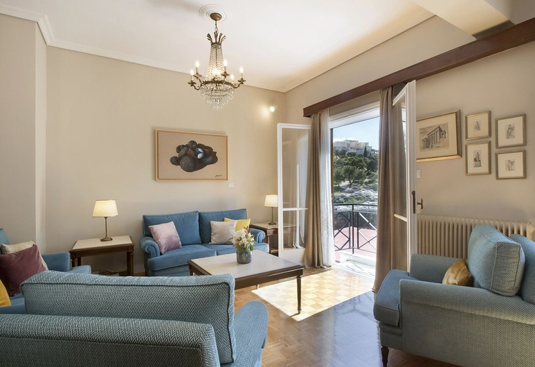 Amazing Two Storey Apartment - Thissio, Ateena