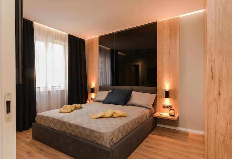 FM Premium Luxury 2-BDR Apartment - Lux and Style, סופיה, דירה, 2 חדרי שינה, נוף לעיר, חדר