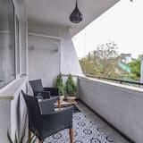 Апартаменти, 2 спальні, з балконом, з видом на гори - Балкон