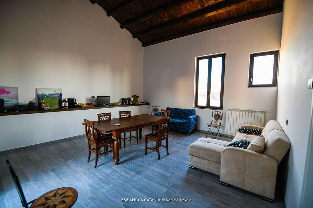 Family Room, Balcony - Living Area