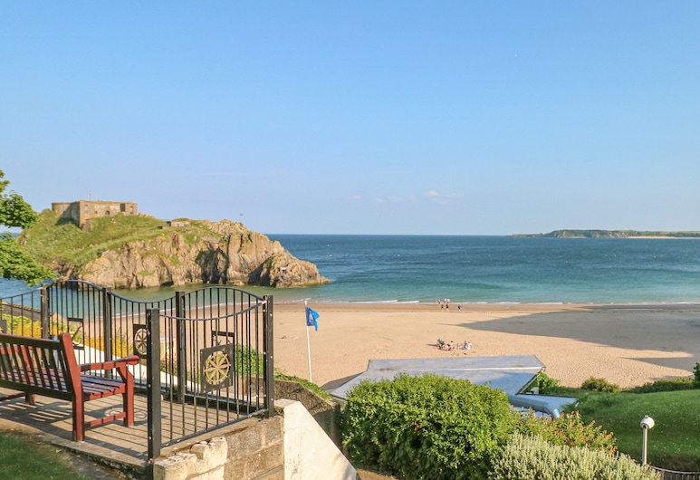 Farnborough Cottage, Tenby, Feriehus, Strand