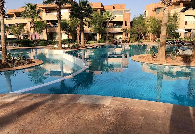 Apartment With 2 Bedrooms in Marrakech, Ménara, With Shared Pool, Enclosed Garden and Wifi, Marrakech, Pool