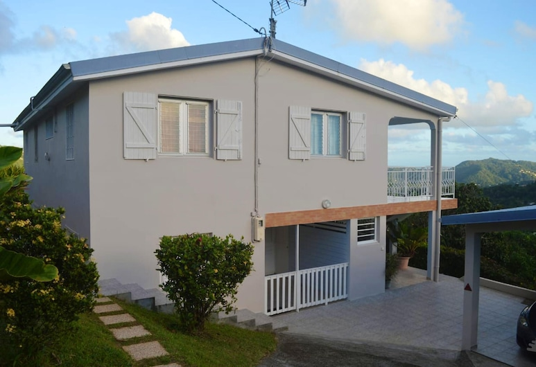 House With 2 Bedrooms in Rivière-pilote, With Wonderful Mountain View, Enclosed Garden and Wifi, Riviere-Pilote