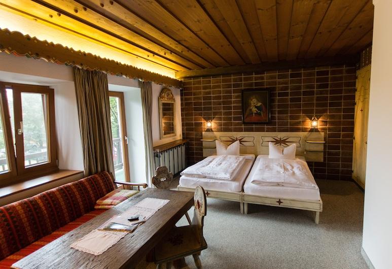 Landhaus Griessee, Obing, Doppelzimmer, Balkon, Zimmer