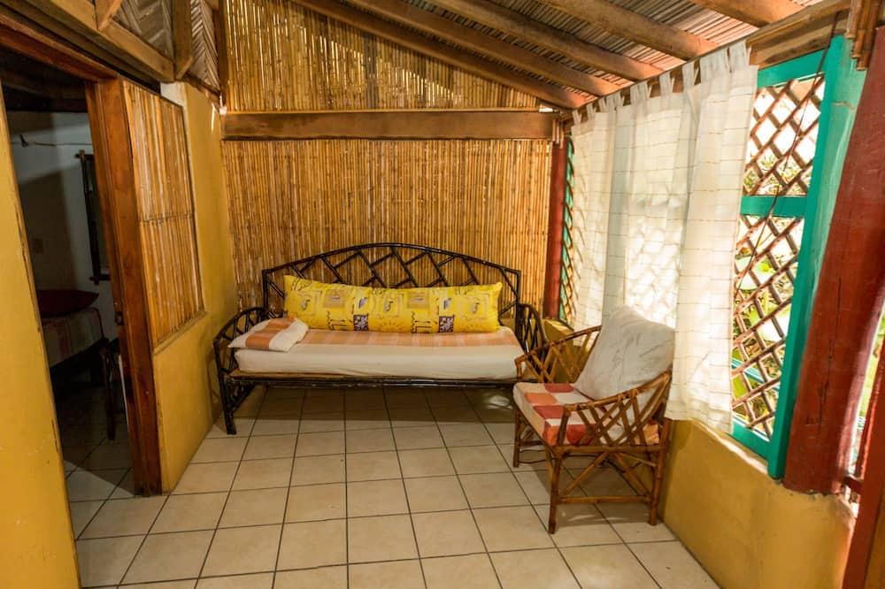 Standard-Ferienhütte - Wohnzimmer