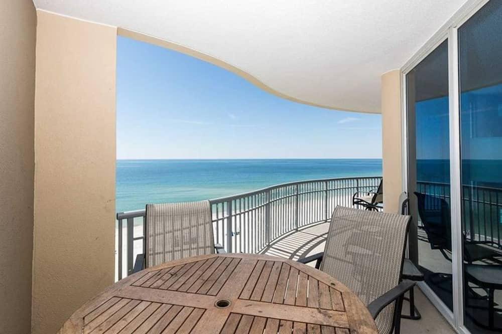 公寓式客房, 4 间卧室 - 阳台