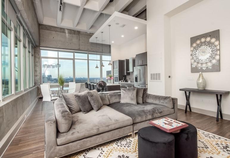 CHIC COLLECTION by NOHOTEL on Piedmont, Atlanta, Apartmán typu Deluxe, Obývacie priestory