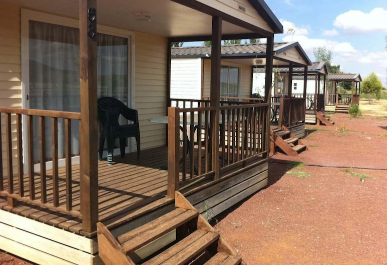 Camping Los Arenales, Almagro, Mobile Home, 2 Bedrooms, Terrace/Patio