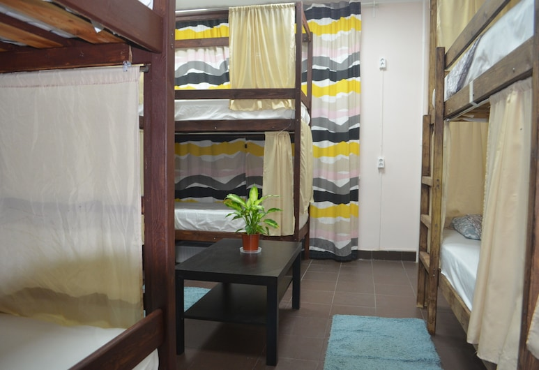 Hostel Progress, Moscow, Bed in 6-bed Mixed Dormitory Room, Guest Room