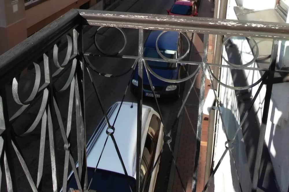 Comfort-Doppelzimmer zur Einzelnutzung - Blick vom Balkon