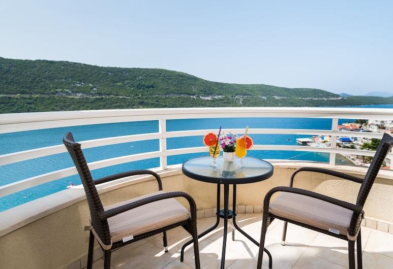 Hotel Agava, Neum, Apartament typu Suite, balkon, widok na morze, Balkon