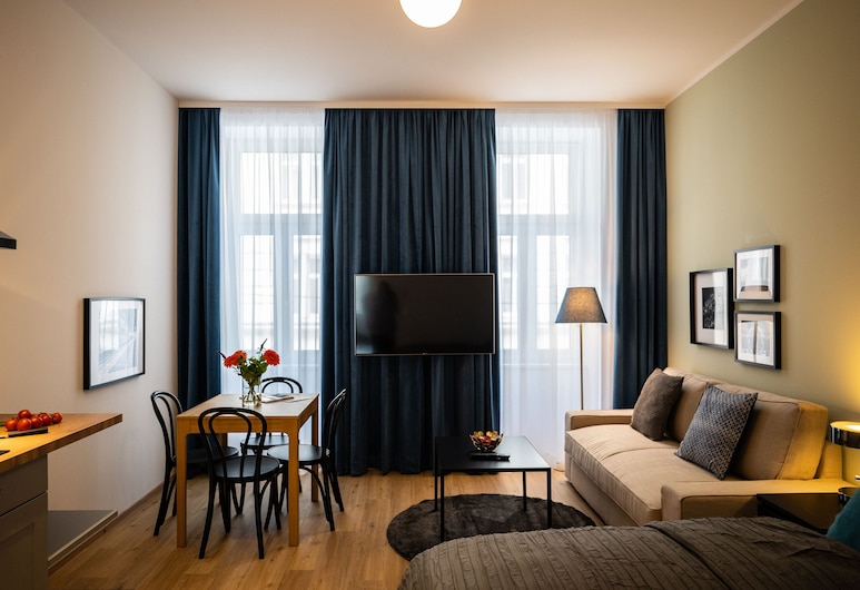 Jimmy's Apartments 3, Viena, Estúdio, Área de estar
