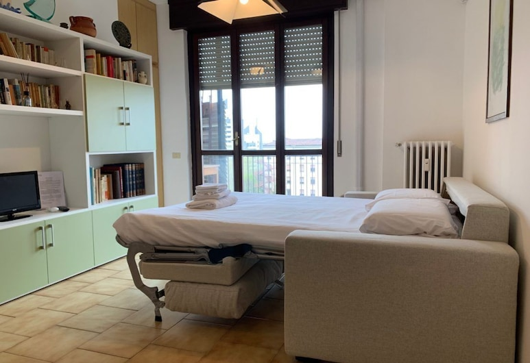 Kibilù - Via Cimabue Mono, Milan, City Studio, Living Area