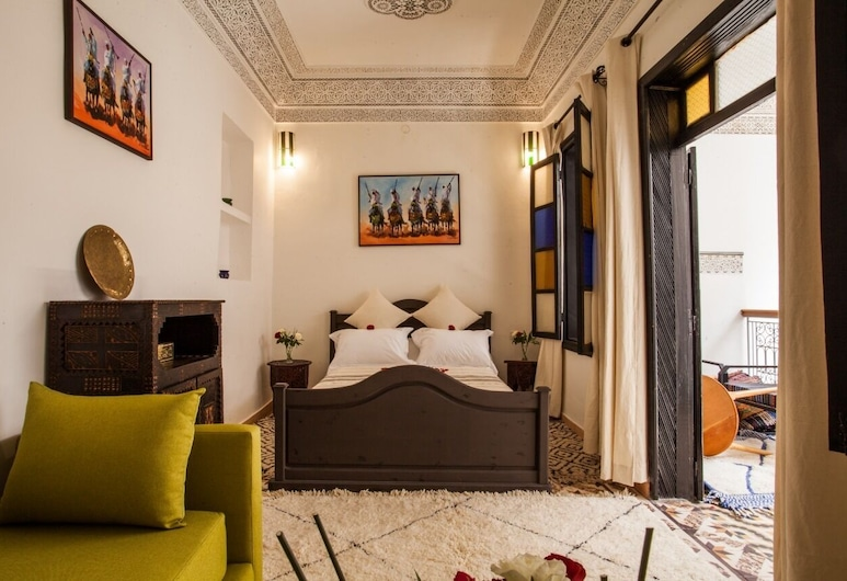 Riad 111 , Marrakech, Tweepersoonskamer (Calla Lily), Kamer