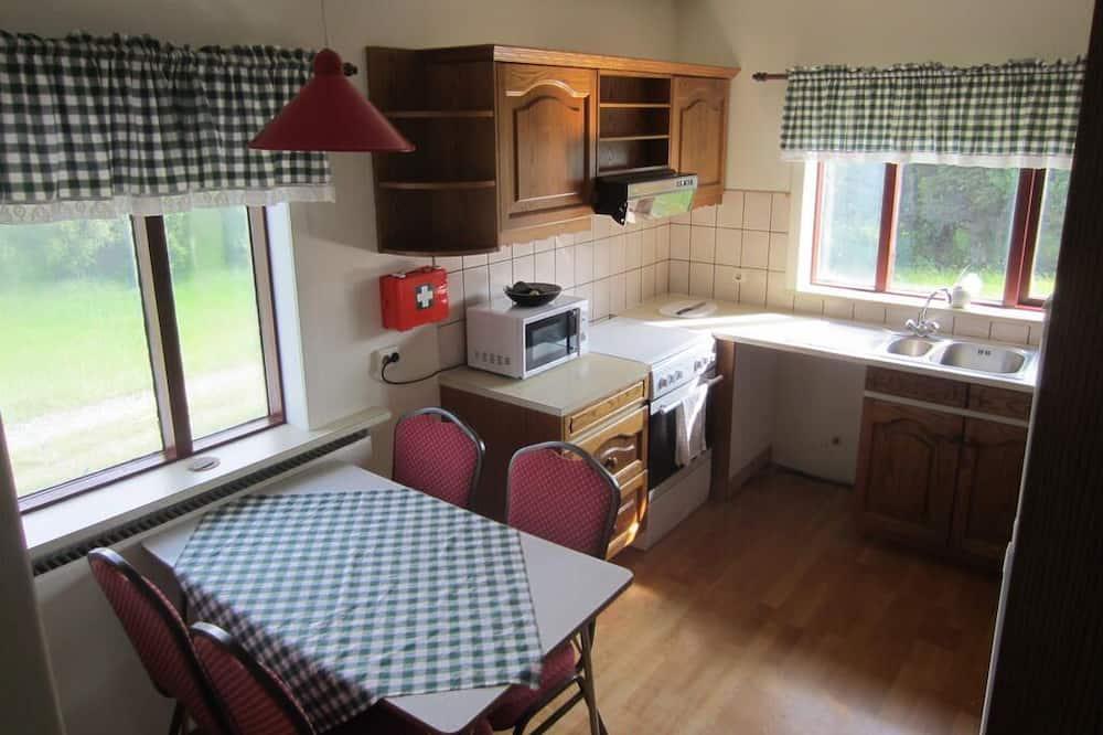 ダブルまたはツインルーム 共用バスルーム - 共用キッチン