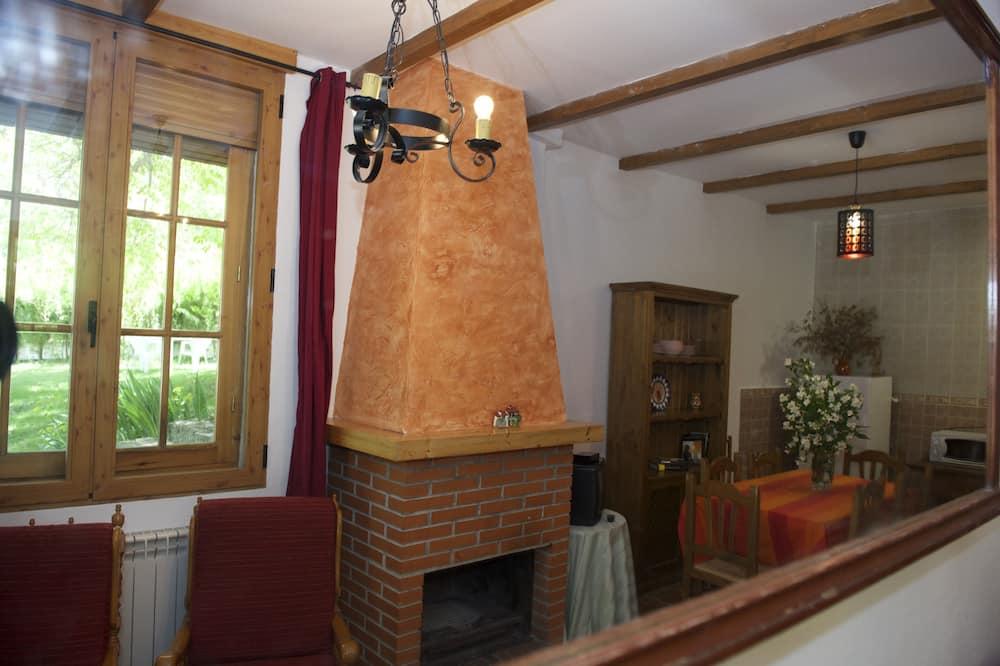 Ferienhaus, 3Schlafzimmer, Terrasse - Wohnzimmer