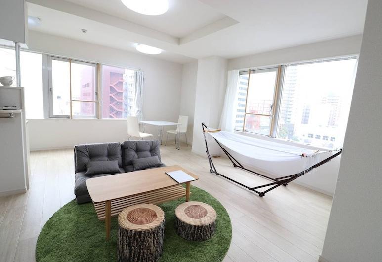 أوساكا هاوس, أوساكا, شقة - غرفتا نوم (o701), منطقة المعيشة