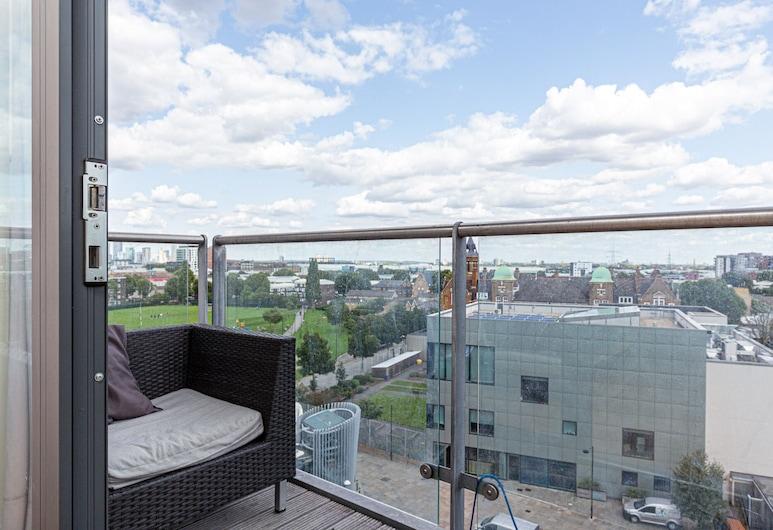 公園景觀公寓 - 豪華旅館 1, 倫敦, 公寓 (1 Bedroom), 露台