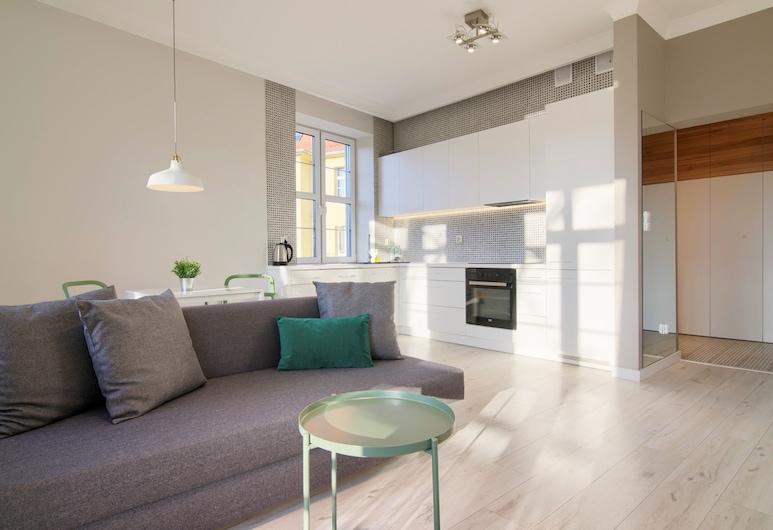 Apartments in Szczecin - Janosika, Szczecin, Apartamento, Varanda, Sala de Estar