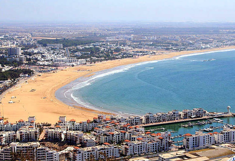 Apartment With one Bedroom in Agadir, With Wonderful City View and Enclosed Garden, Agadir, Strand