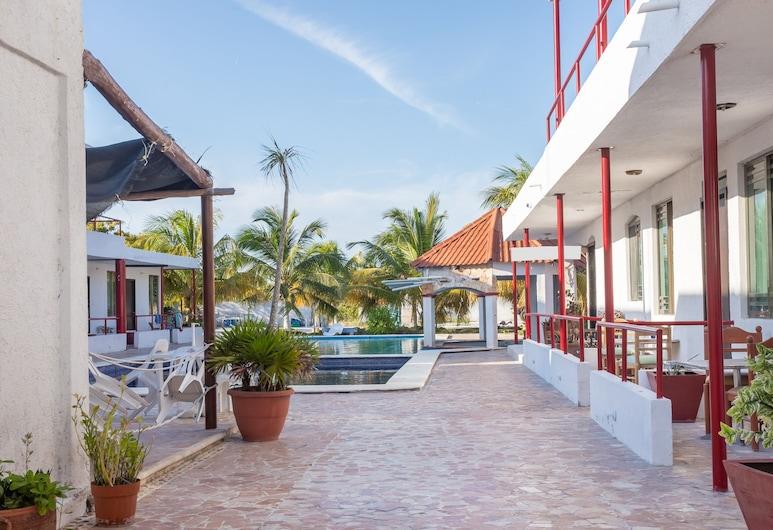 OYO Hotel Las Dunas, Progreso, Fachada del hotel