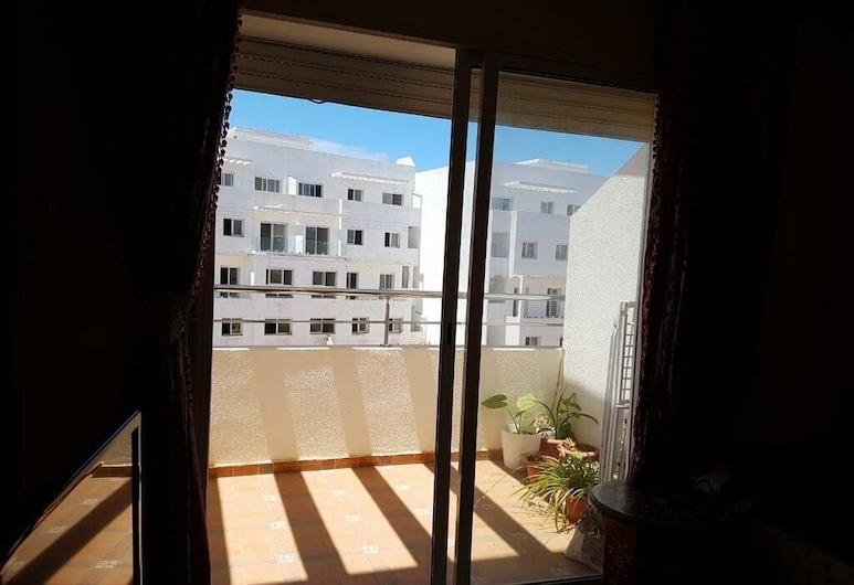 Residence Les Terrasses 1, El Mansouria, Apartment, Blick vom Balkon