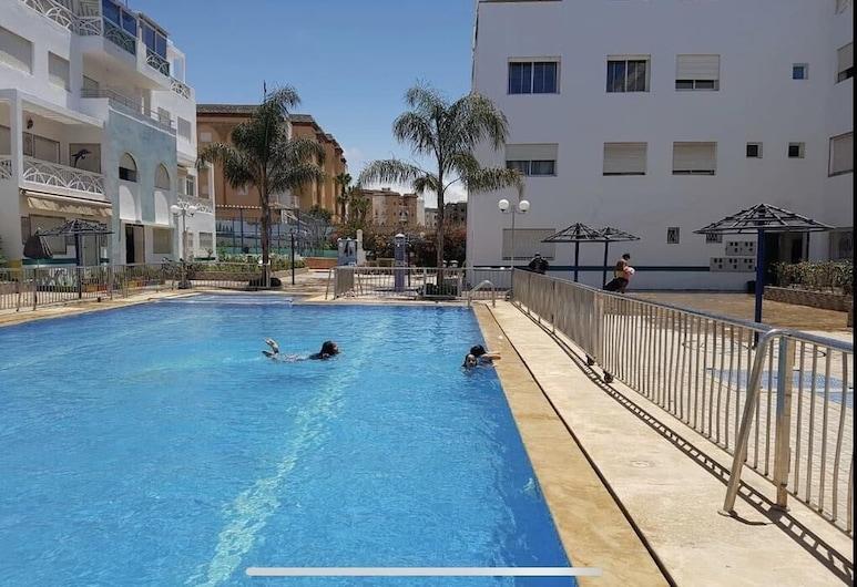 Residence Les Terrasses 1, El Mansouria, Vonkajší bazén