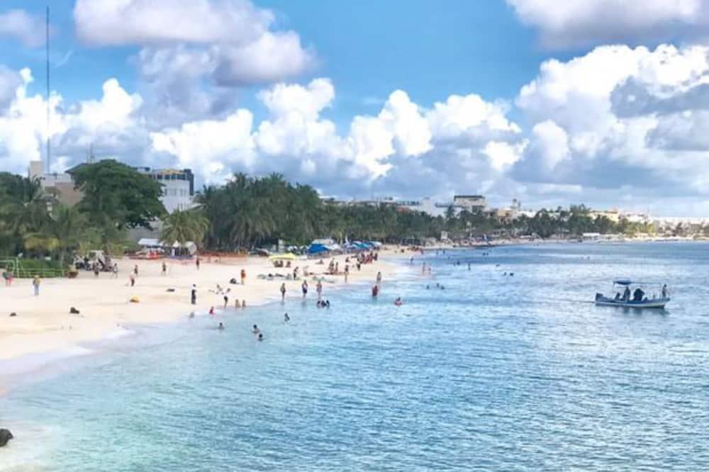 Departamento, vista a la piscina - Playa