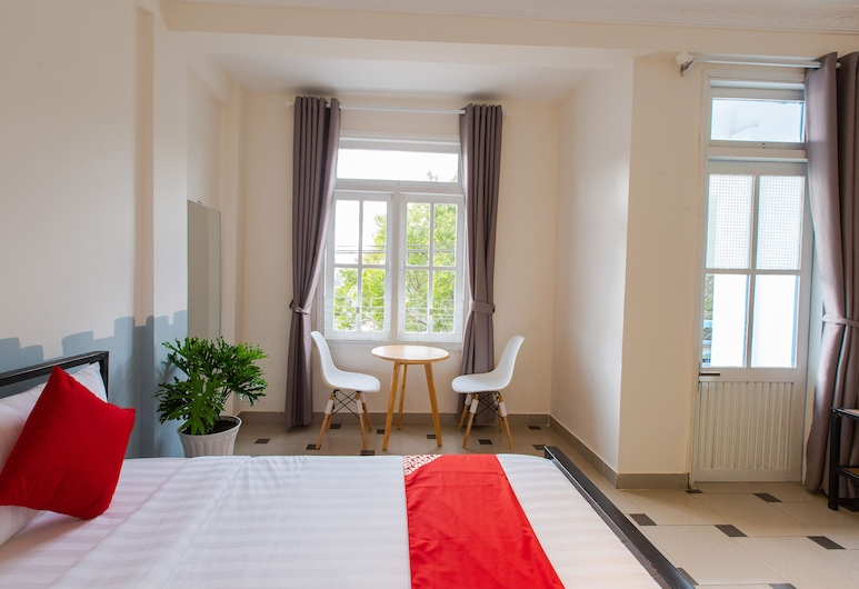 OYO 569 Z Hotel, Ðà Lat, Deluxe-Doppelzimmer, Ausblick vom Zimmer