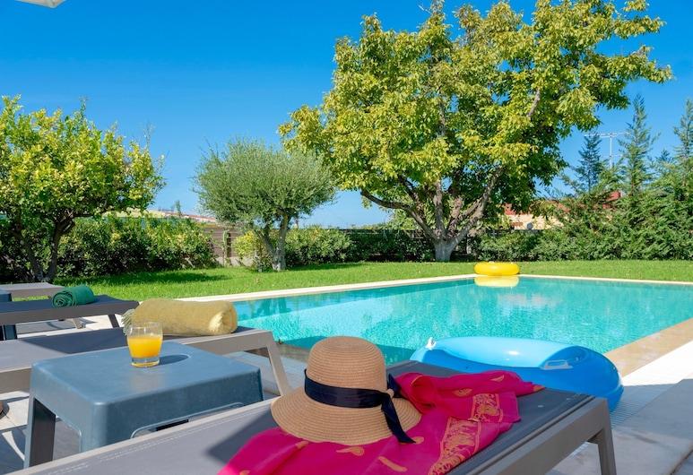 Villa Archontia, Mylopotamos, Pool