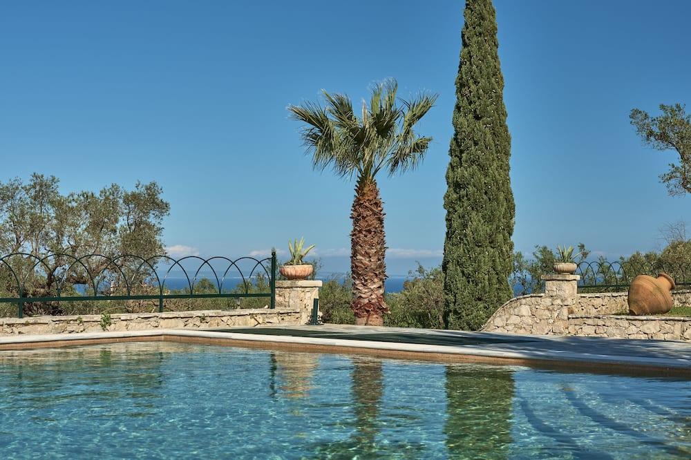 Villa de lujo, 5 habitaciones, piscina privada, vista al mar - Piscina privada