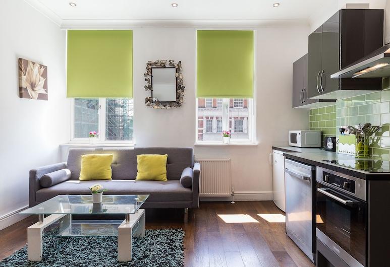 Edgware Road Apartments, Londen, Superior appartement, 1 slaapkamer, Woonruimte