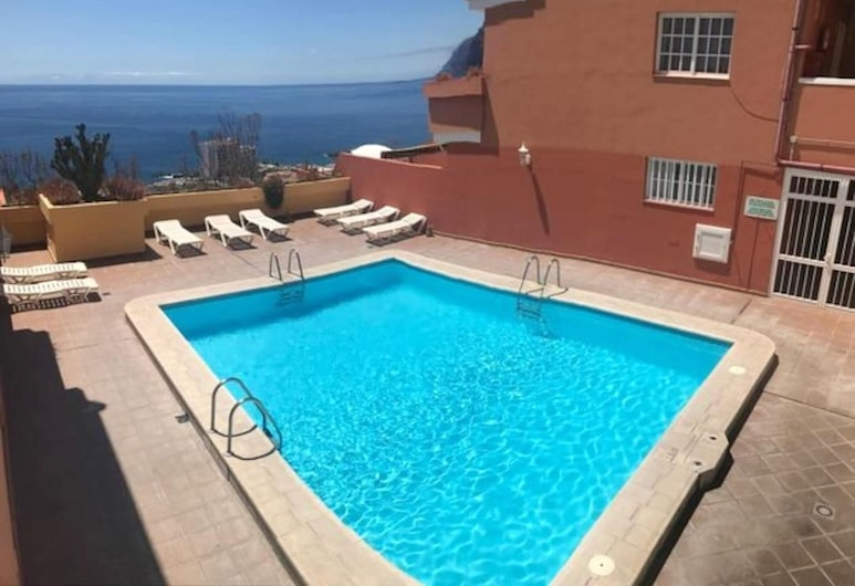 Apartment With one Bedroom in Santiago del Teide, With Wonderful sea View, Shared Pool and Terrace, Santiago del Teide