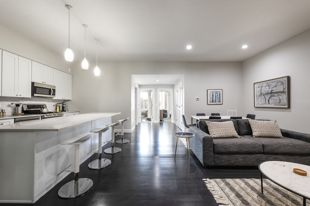 Deluxe Apartment 2 - Living Area