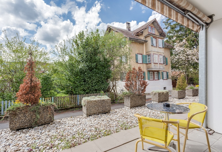 Anstatthotel.ch Luzern, Lucerne, Superior Apartment, Teres/Laman Dalam