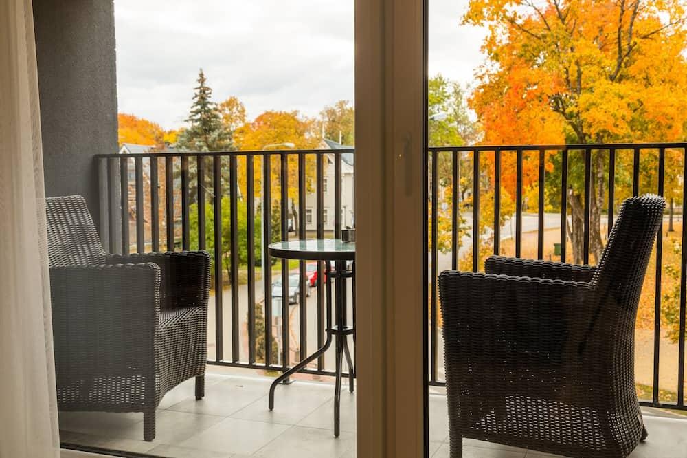 Išskirtinio tipo apartamentai - Balkonas