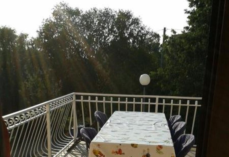 Apartment Stoja, Crikvenica, ลานระเบียง/นอกชาน