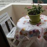 Suite (Blanche) - Vista al balcón
