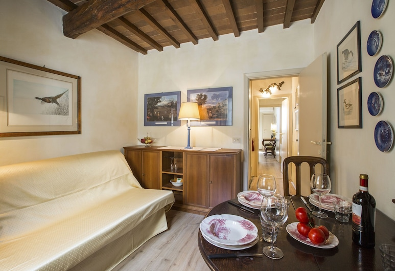 Ponte Vecchio Charme 2, Florence, Apartment, 1 Bedroom, Living Area