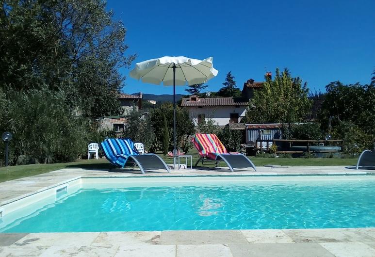 Country House Podere Casorbica, Cortona, Lauko baseinas