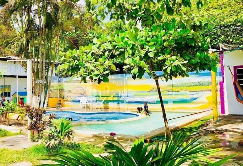 Rancho Mama Juany, El Cuco, Piscina all'aperto